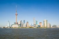 Pudong skyline 11015062232| 写真素材・ストックフォト・画像・イラスト素材|アマナイメージズ