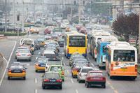 Chinese traffic jam