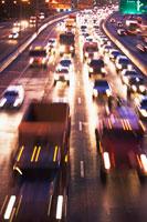 Traffic on road
