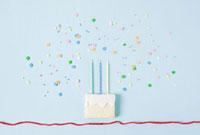 Biscuit birthday cake 11015191121| 写真素材・ストックフォト・画像・イラスト素材|アマナイメージズ