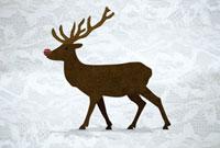 Reindeer 11015199609| 写真素材・ストックフォト・画像・イラスト素材|アマナイメージズ