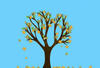 Tree in autumn 11015199627| 写真素材・ストックフォト・画像・イラスト素材|アマナイメージズ