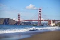 Golden Gate Bridge and San Francisco Bay, California, USA