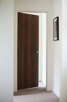Open door leading off hallway