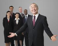 Portrait of a Japanese businessman