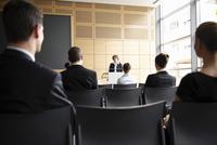 Business people in seminar