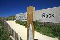 Signpost to Rock, Cornwall