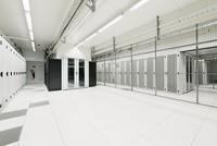 Room in data storage warehouse
