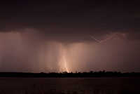 Storm over Zambezi River 11015243648| 写真素材・ストックフォト・画像・イラスト素材|アマナイメージズ