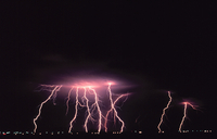 Lightning photograph from NOAA's National Severe Storms Laboratory (NSSL) Collection
