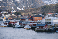 Fishing village of Reine, Lofoten, Norway
