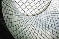 Fulton Street subway station ceiling, New York, USA