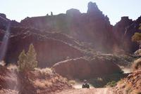 All-terrain vehicle riders, Moab, Utah, USA