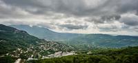 View of Le Bar-Sur-Loup, Alpes Maritimes, France