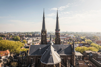 View from New Church, Delft, Netherlands