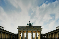 View of Brandenburg Gate, Berlin, Germany