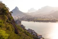 Pedra da G疱ea, Rodrigo de Freitas Lagoon, Rio de Janeiro, Brazil