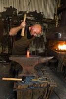 Blacksmith at work