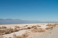 Landscape view, Salton Sea, California , USA