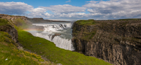 Gullfoss waterfall, Southwest Iceland