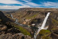 Haifoss waterfall, South Iceland