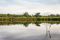 View of lake, Gili Meno, Lombok, Indonesia