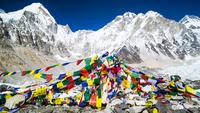 Prayer flags, Mount Everest Trek, Nepal