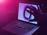 Hand grabbing the personnel identity of somebody online 11015295700| 写真素材・ストックフォト・画像・イラスト素材|アマナイメージズ
