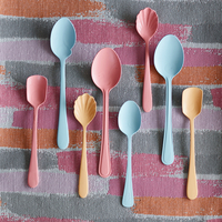Spoons in different sizes and colours