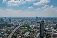 Elevated view of Bangkok, Thailand