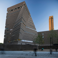 Exterior view of Switch House, Tate Modern, London, UK