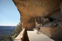 Rock dwelling ruins at Mesa Verde National Park, Colorado, USA