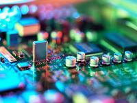 Close up of hi-tech electronic circuit board 11015303168| 写真素材・ストックフォト・画像・イラスト素材|アマナイメージズ