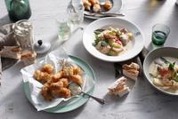 Blue eye cod and seafood chowder 11015303181| 写真素材・ストックフォト・画像・イラスト素材|アマナイメージズ