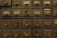 Labelled drawers 11015310187| 写真素材・ストックフォト・画像・イラスト素材|アマナイメージズ