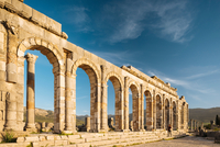Roman Ruins of Volubilis, Meknes, Morocco, North Africa 11015313265  写真素材・ストックフォト・画像・イラスト素材 アマナイメージズ