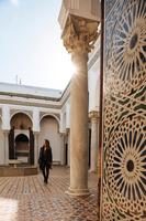 Woman exploring, Kasbah, Tangier, Morocco, North Africa 11015313270| 写真素材・ストックフォト・画像・イラスト素材|アマナイメージズ