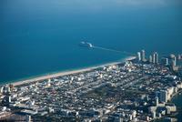Aerial view of downtown Miami 11015323109  写真素材・ストックフォト・画像・イラスト素材 アマナイメージズ
