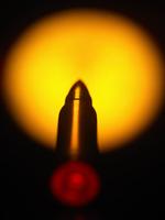 Close up of bullet 11015323264| 写真素材・ストックフォト・画像・イラスト素材|アマナイメージズ