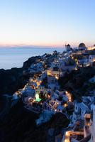 Sunset, Oia, Santorini, Greece 11015324668| 写真素材・ストックフォト・画像・イラスト素材|アマナイメージズ