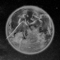 Man carrying woman within transparent planet earth 11015326956| 写真素材・ストックフォト・画像・イラスト素材|アマナイメージズ