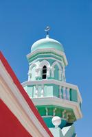 Nurul Islam Mosque, Bo Kaap, Western Cape, South Africa 11015327524| 写真素材・ストックフォト・画像・イラスト素材|アマナイメージズ