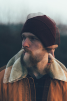 Double exposure portrait of bearded young male hipster 11015327854| 写真素材・ストックフォト・画像・イラスト素材|アマナイメージズ