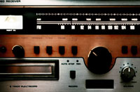 An old stereo