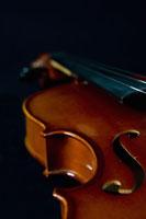 Detail of a violin