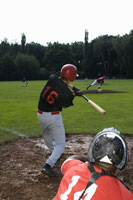 A baseball game