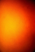 Abstract orange and red lit pattern, full frame