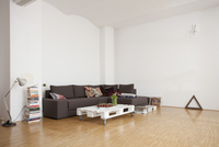 Interior of spacious living room 11016027418| 写真素材・ストックフォト・画像・イラスト素材|アマナイメージズ