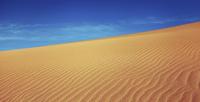 Sand dune at Taklimakan desert, Xinjiang province, China
