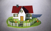 Illustrative image of house model